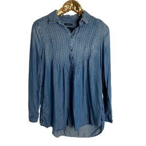 American Eagle Denim Tunic Shirt